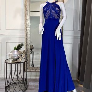 Royal Blue Prom Formal Evening Dress Gown